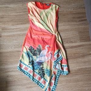 Eva Franco, Anthropology tropical bird dress